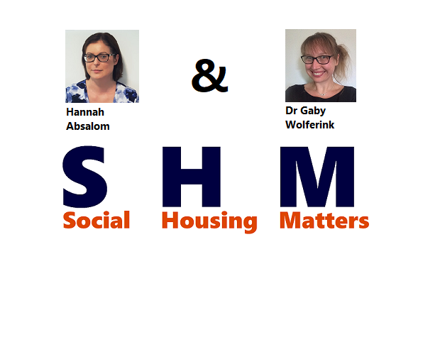 We believe Social Housing Matters: Join us!